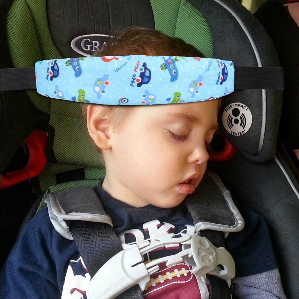Gemini/_mall/® Baby Kids Safety Head Support Hugger #9 Neck Protection Belt Toddler Car Seat Head Strap Nap Aid Holder Belt