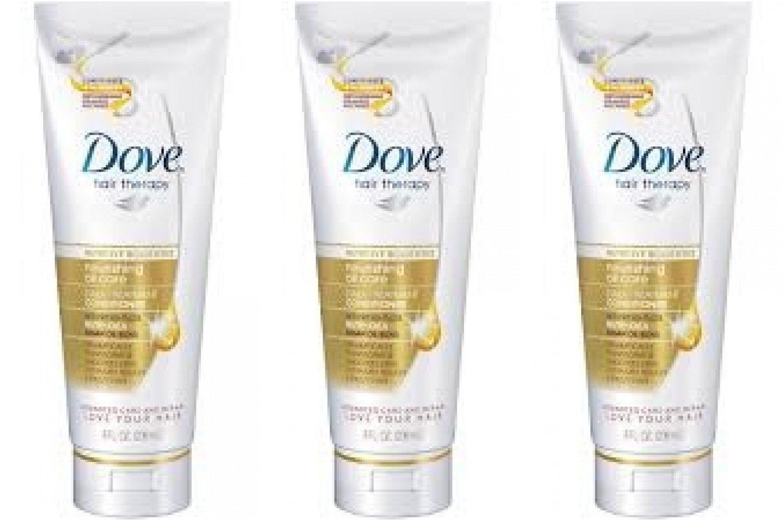 Dove Conditioner Nourish 6/200 Ml Travel Size (Pack Of 3)