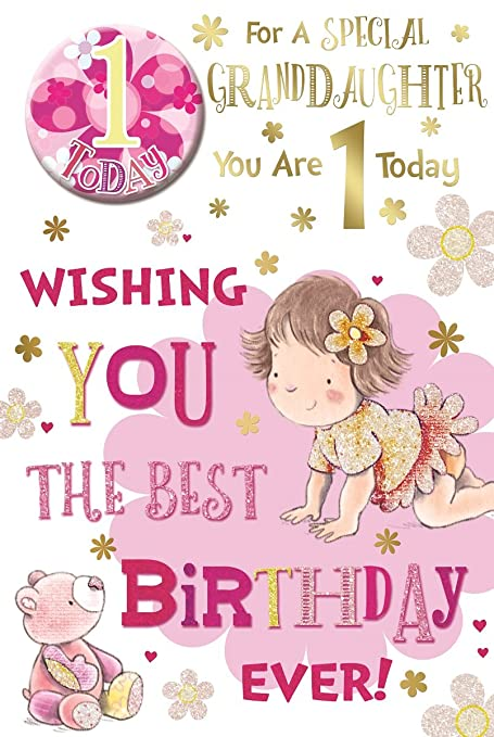BUY 1 GET 1 HALF PRICE for you daughter Daughter Birthday Card  23cm x 15cm
