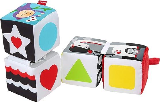 Fisher-Price Bloques gira y mira, juguete de aprendizaje para bebé ...