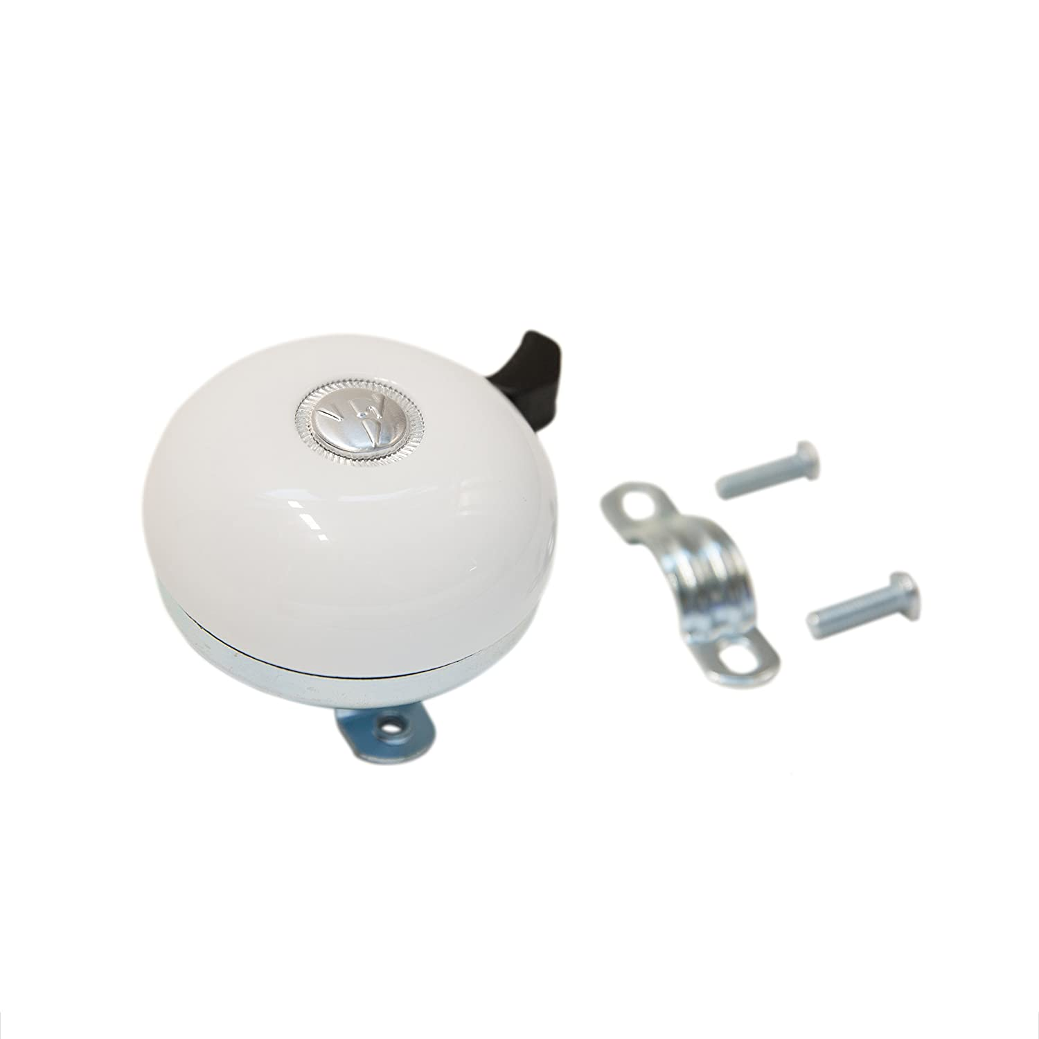 Firmstrong Classic Beach Cruiser Bicycle Bell White 1229