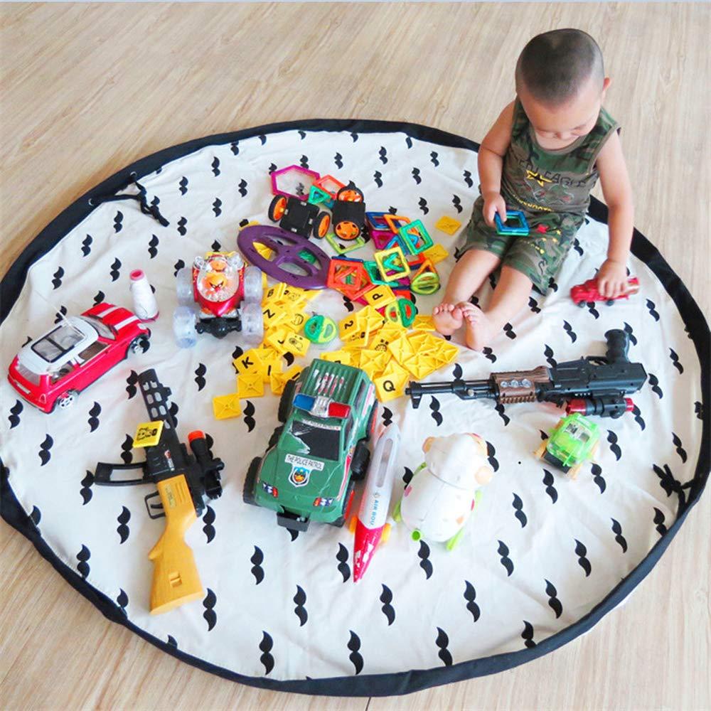 Tappeti gioco per bambini, Toy Storage Bag organizer organizzatore Pad giocattolo per bambini Bonabon
