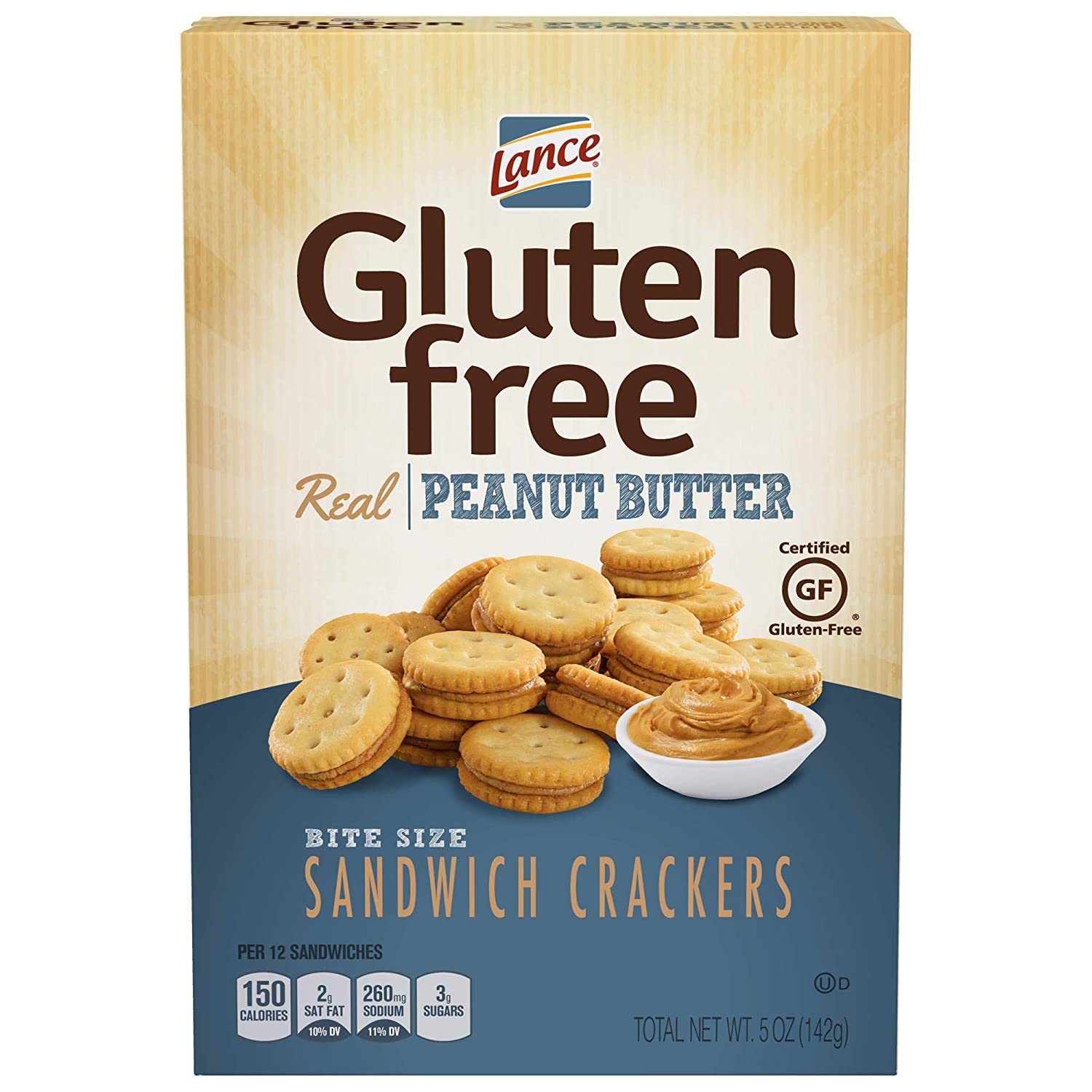 Gluten Free Crackers, Peanut Butter Sandwich Crackers