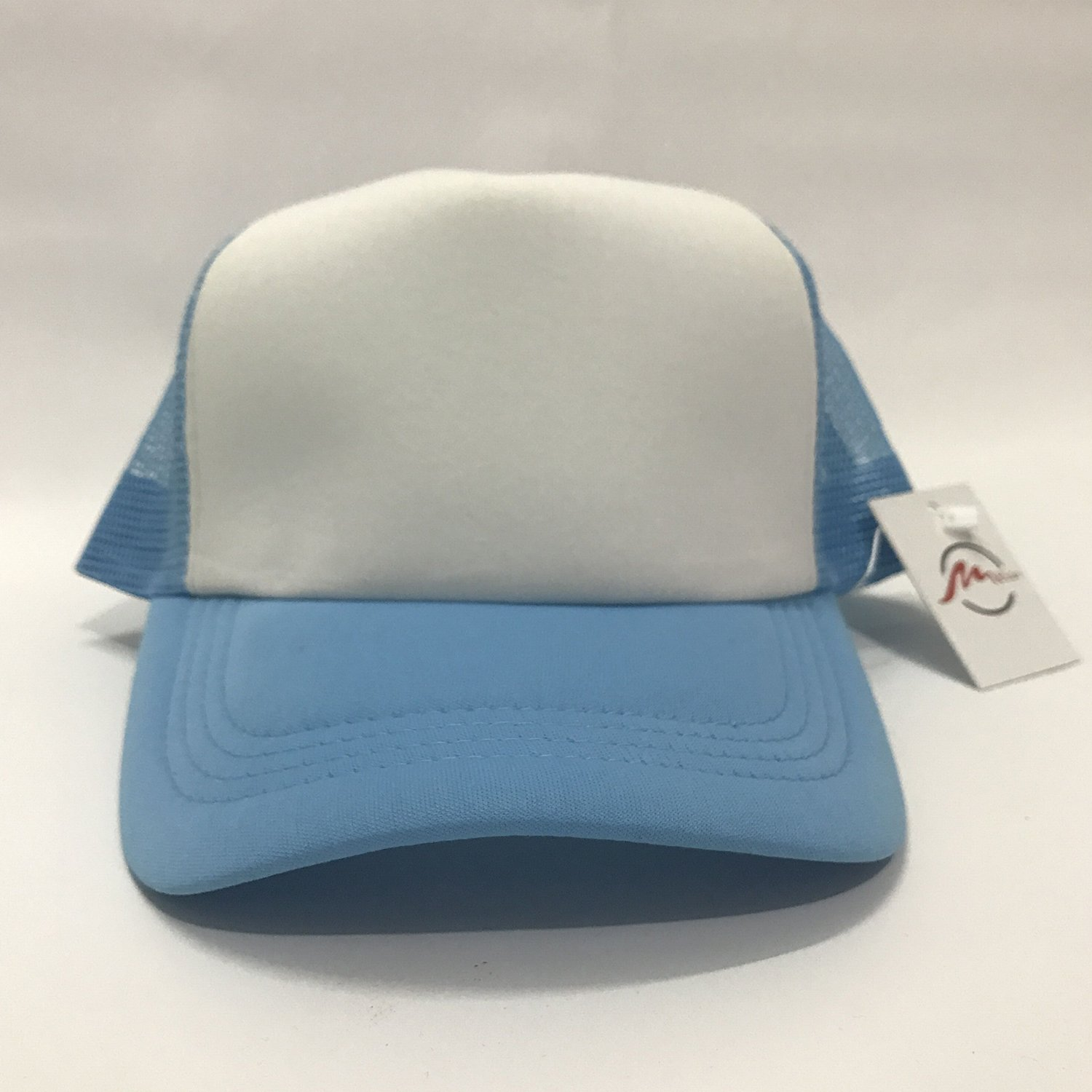 ZMvise Cute Tumblr Nutella Cute Baseball Cap Trucker Mesh Hat Sky Blue at Amazon Mens Clothing store: