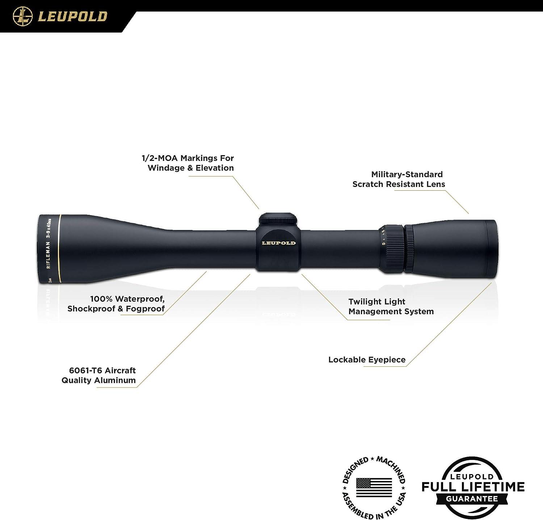 Leupold Rifleman 3-9x40mm Riflescope