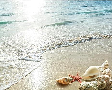 Lfgong piano di spiaggia murales in wall stickers beach d