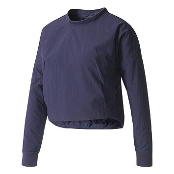 284f5dc50304 adidas Damen Id Cocoon Sweatshirt, Multicolour Tinnob, XS