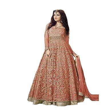 Wedding Bridal Ethnic Zoya Anarkali Salwar Kameez Dress suit Gown ...
