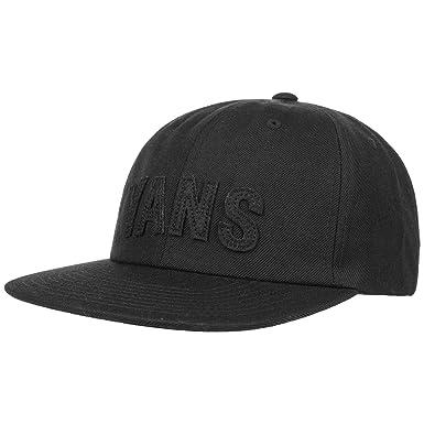 Unstructured Tag Snapback Cap by Vans gorragorra de beisbol (talla única - negro)