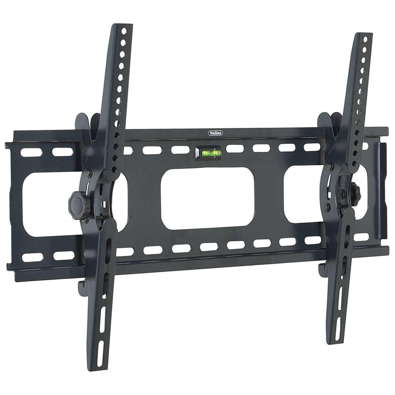 vonhaus 33 60 tilt tv wall mount bracket with built in spirit level for ebay. Black Bedroom Furniture Sets. Home Design Ideas