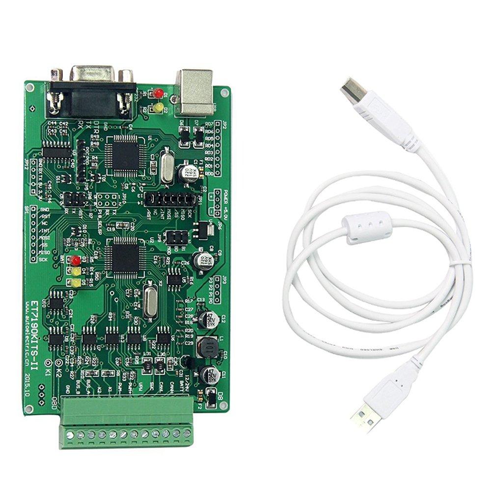 Signstek ET7190 Kits Auto/Car Diagnosis Can-Bus OBD/0BD2/OBD-II Demo Board ECU Simulator