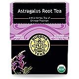 Buddha Teas Organic Astragalus Root Tea | 18 Bleach-Free Tea Bags | Made in the USA | Caffeine-Free | No GMOs
