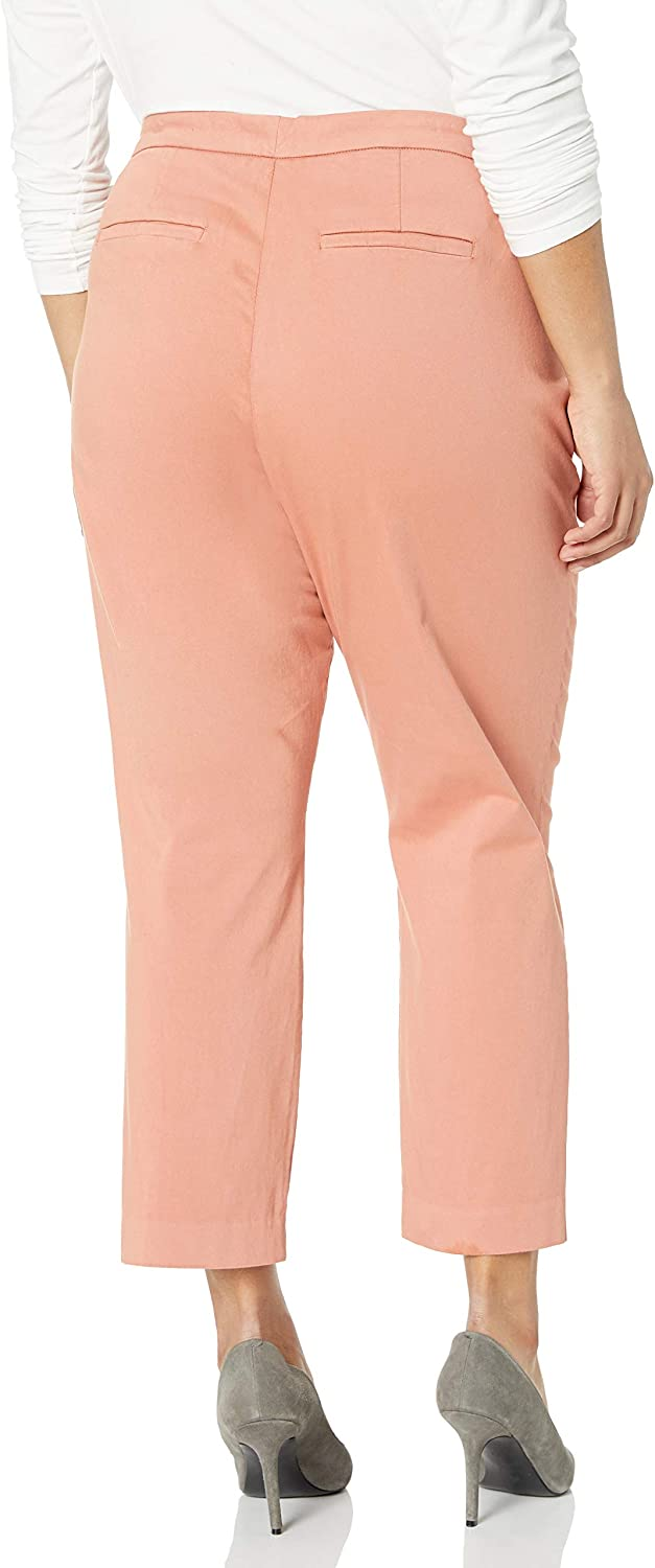 NYDJ Womens Plus Size Everyday Trouser Pants Casual Pants