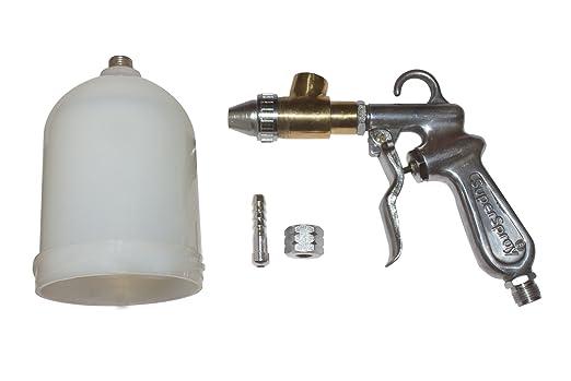 EXCEL IMPEX Steel Sand Blasting Gun, Standard Size, Metalic