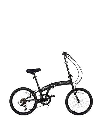 SCHIANO Bicicleta Plegable 20 I-Fold 604 Negro