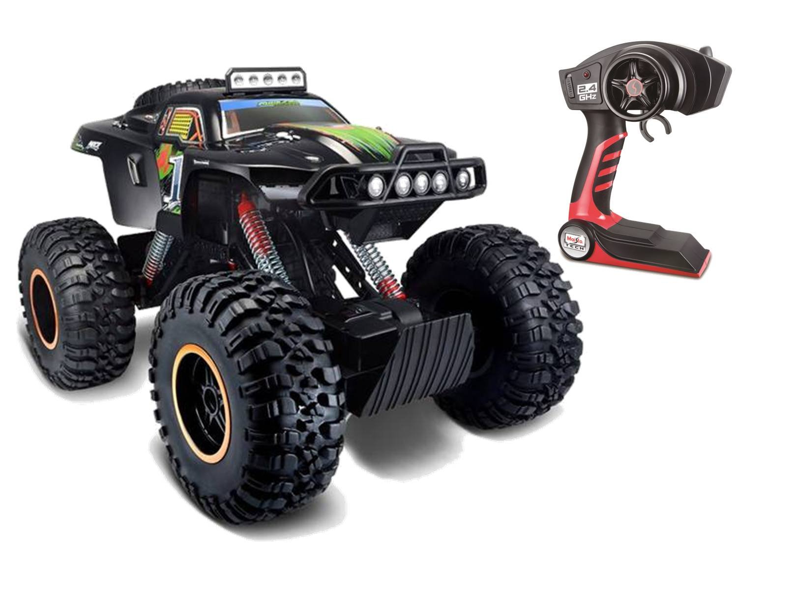Maisto 581189 R/C Rock Zilla 42 cm 2.4 GHz RTR Vehicle