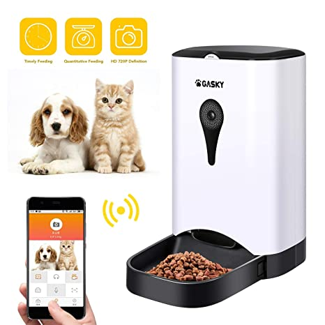 Amazon.com: Gasky Automático Gato Mascota Smart Feeder - App ...