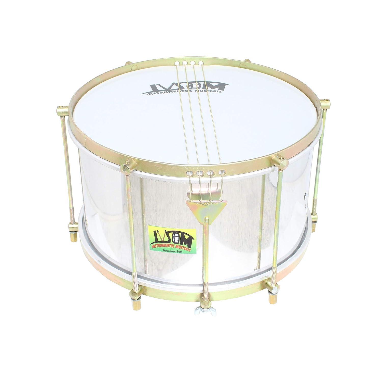 ivsom bo/îte batucada duralium 4/cordes 20/cm X 12/ 6/accordeur caixa snare Drum