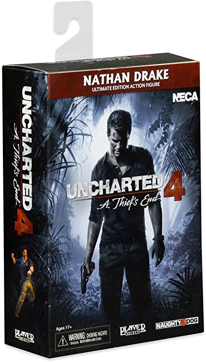 Uncharted 4 NECA Free Shipping! Ultimate Nathan Drake Action Figure