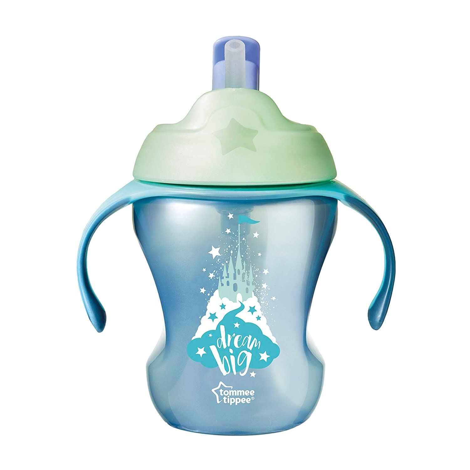 Tommee Tippee Trainer Straw Cup 7 Months+, Blue (Colours May Vary) Mayborn Group 44701391
