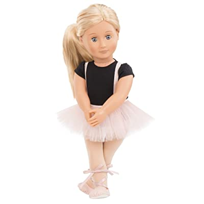 "Our Generation- Violet Anna 18"" Regular Ballerina Fashion Doll- for Age 3 & Up: Toys & Games"