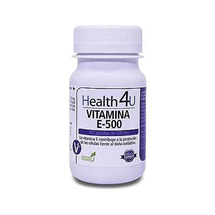 H4U Vitamina E-500 30 cápsulas de 500 mg: Amazon.es: Belleza