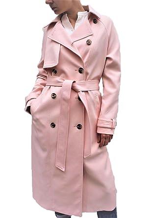 new concept 177cc 78fb7 RIVER ISLAND Damen Trenchcoat Mantel rosa Rose: Amazon.de ...