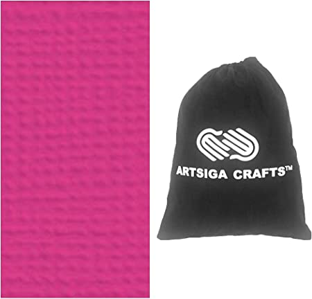 American Crafts Textured Cardstock 12X12-Peach 25 per Pack