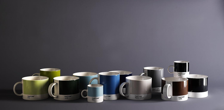 6.2 cm Small Coffee Cup Black 419 C Ceramic Copenhagen design Pantone Espresso Fine China 120 ml