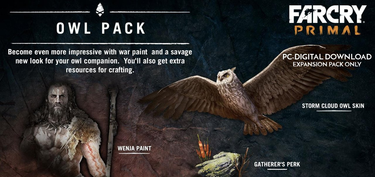 Buy Far Cry Primal The Owl Pack Dlc Digital Code Only Online At Low Prices In India Ubi Soft Video Games Amazon In