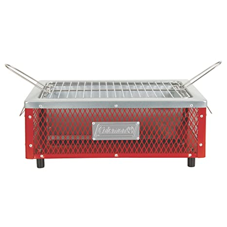 Amazon Com Coleman Table Top Charcoal Grill Sports Outdoors