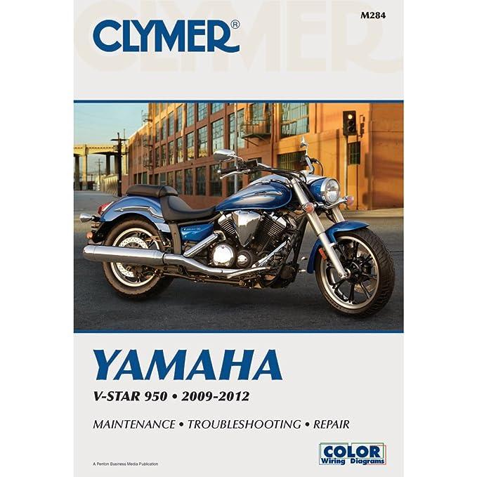 amazon com clymer yamaha v star 950 2009 2012 manufacturer rh amazon com V Star 950 Accessories Custom V Star 950