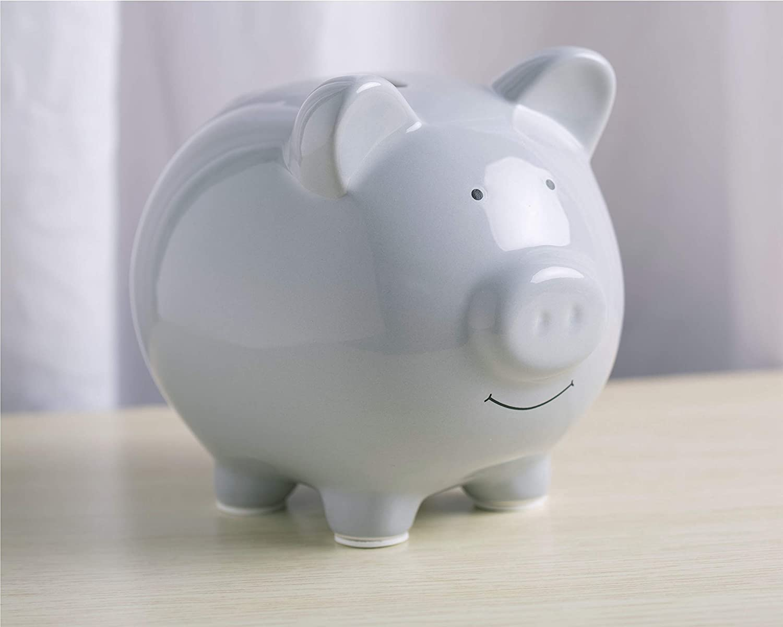 Pearhead Ceramic Piggy Bank Makes a Perfect Unique Gift