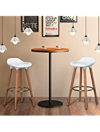 wohomo kitchen counter height bar stools 32 inches white set of 2 tall barstools for home