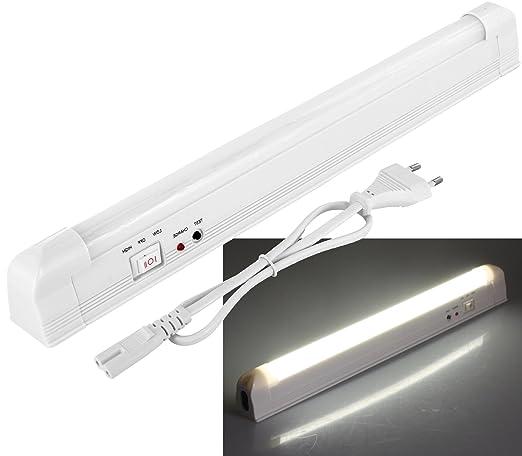 2 opinioni per LED a batteria lampada di emergenza con cavo di rete 230V–4W