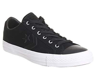 Converse Mens Star Player Ox Midnight Navy Canvas Trainers 8 US f888db5a8