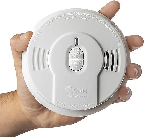 Kidde Safety – 21026055 Kidde Sealed Lithium Battery Power Smoke Detector Alarm Model i9010, White