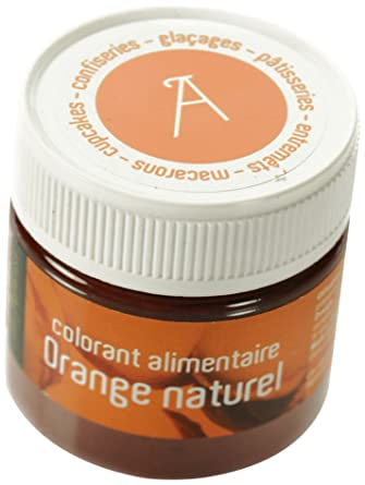 les artistes paris a 0402 colorant alimentaire orange naturel - Colorant Alimentaire Vert Naturel