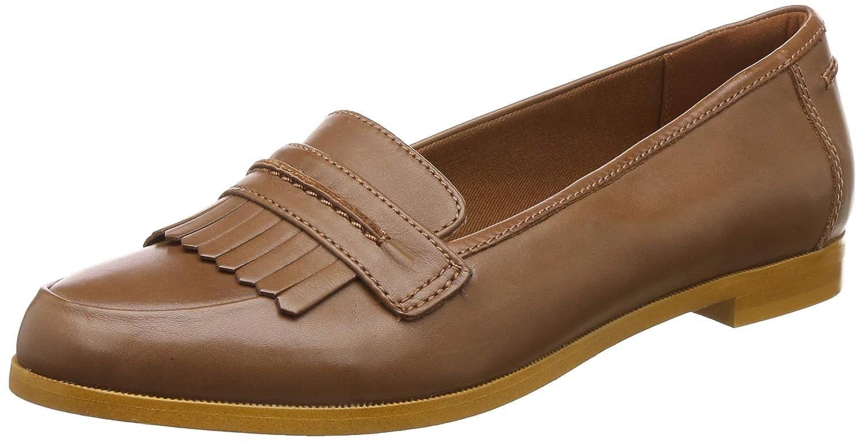 Andora Crush Tan Leather Loafers-6.5 UK