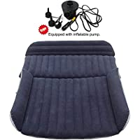 ZAIJH SUV Heavy-Duty Backseat Car Inflatable Travel Mattress for Camping,Car Travel Inflatable Mattress SUV Air Mattress Backseat Extended Cushion Perfect for Camping or Travel