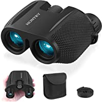 Binoculars for Adults and Kids, 10x25 HD Compact Binoculars for Bird Watching, Theater and Concerts, Hunting and Sport Games