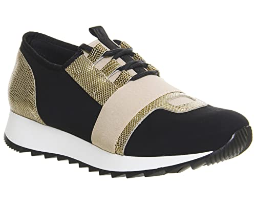 Office Action Neoprene Runner Black Gold - 4 UK