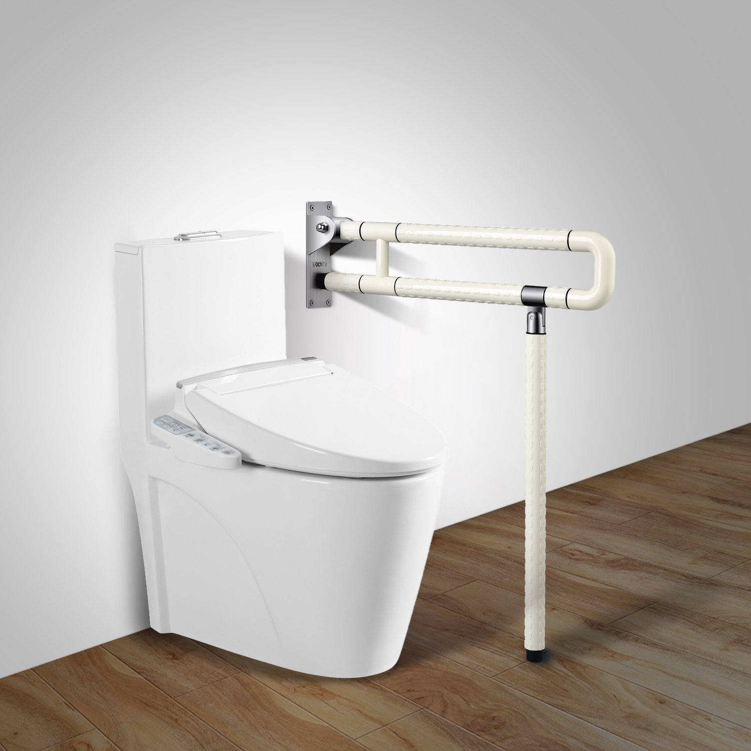 Medical Safety Toilet Grab Bar Handicap Bathroom Seat Support ...