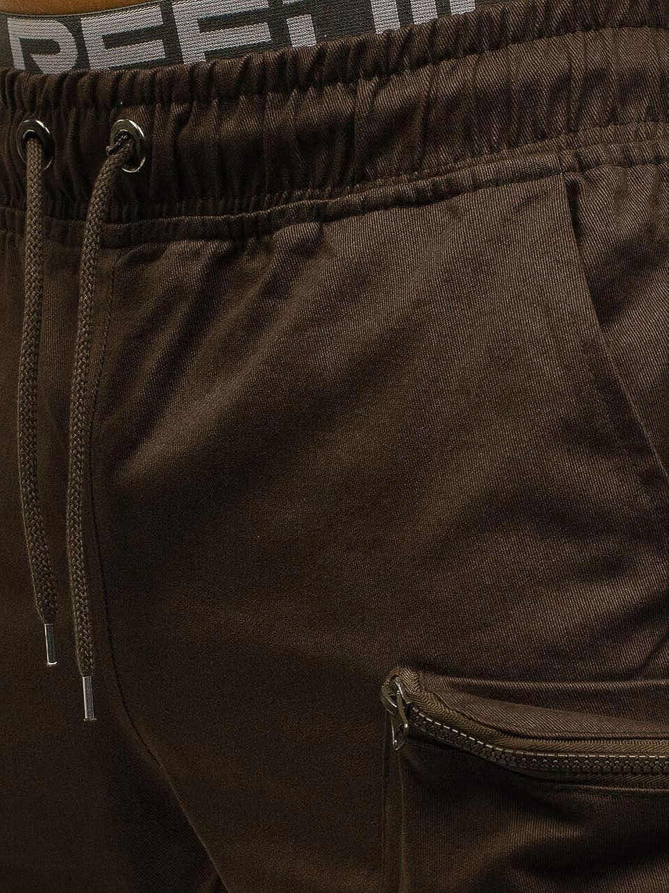 5ALL Pantaloni da Lavoro da Uomo Pantaloni da Tuta mimetici Multitasche Casual Pantaloni da Jogging Classici con Coulisse Pantaloni Aderenti da Uomo Elasticizzati