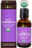 Lavender Essential Oil By Sky Organics-100% Organic, Pure Therapeutic French Lavender Oil For Diffuser, Aromatherapy, Headache, Pain, Meditation, Anxiety, Sleep-Perfect For Candles & Massage 1oz
