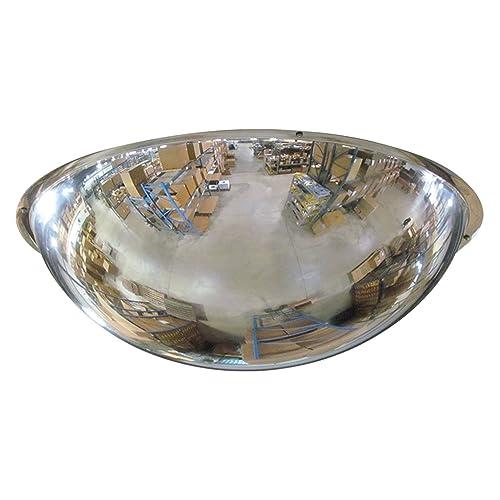 Se-Kure Domes Mirrors ONV-360-18 Full Dome Mirror Hanging Chains, 18 Diameter