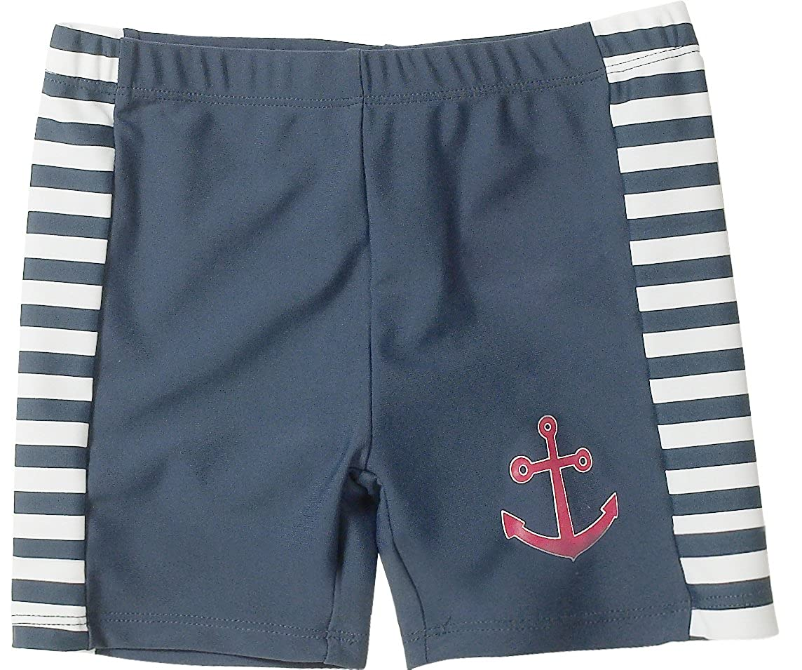 Playshoes Striped Marine Collection Boys Swim Trunk