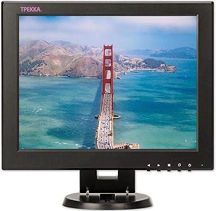 12 zoll cctv quadrat monitor 4 3 16 9 tft lcd farbe monitor bildschirm mit hdmi bnc av vga fur computer pc tv dvd fpv video car display cctv kamera