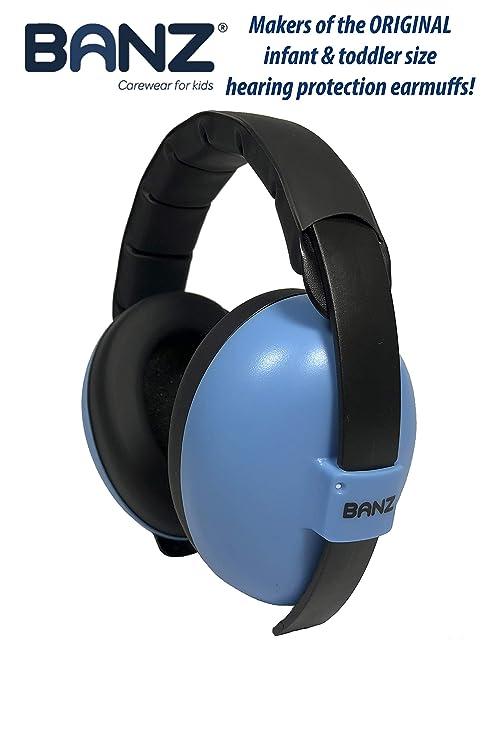 BANZ BABY EAR DEFENDERS, Protector acustico con almohadillas para ...