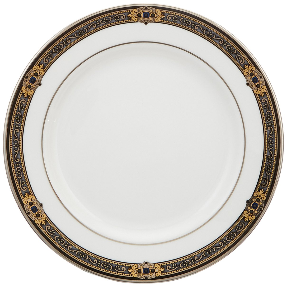 Lenox Vintage Jewel Platinum-Banded Bone China 5-Piece Place Setting, Service for 1 by Lenox (Image #5)